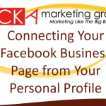 Connect Facebook Page to a Personal Account