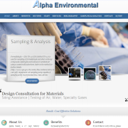 In Vitro Environmental Lab Website Design