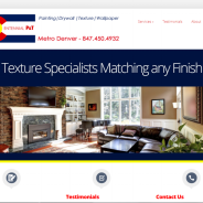 WordPress Website Design for Denver Painter
