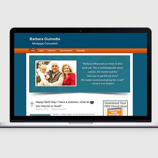 mortgage company web design