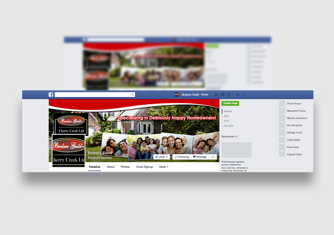 colorado realtor facebook design