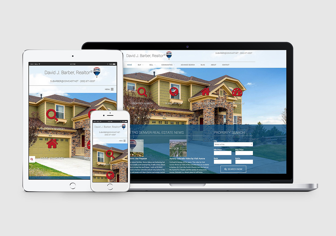 Aurora Remax Realtor Website Company