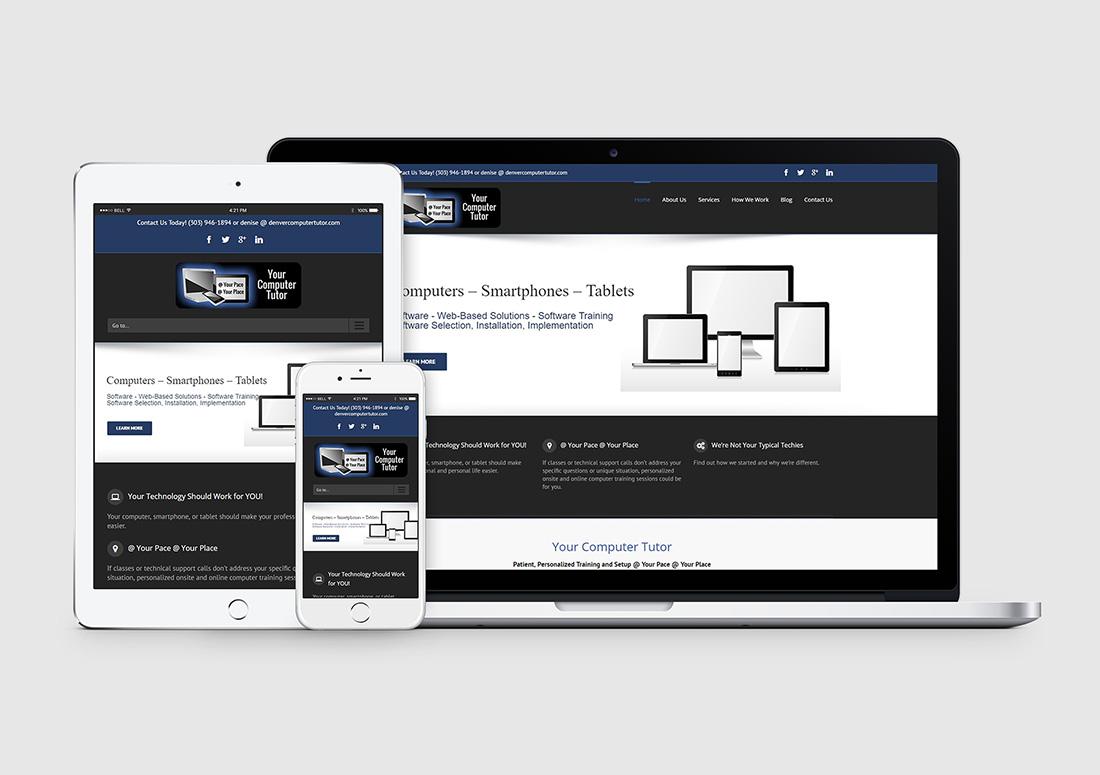 Denver Computer Tutor WordPress Web Design