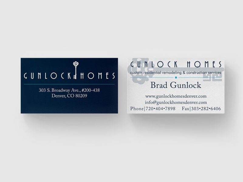 denver builder business cards