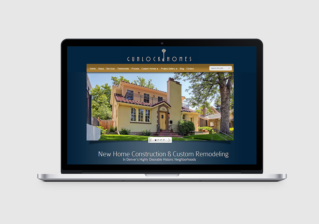 denver luxury builder wordpress web design