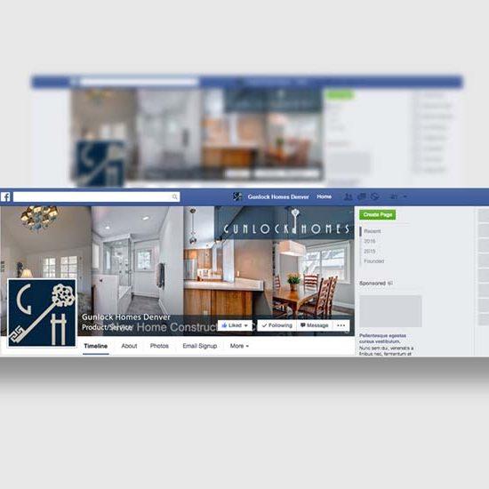 Denver Luxury Home Builder Social Media Design