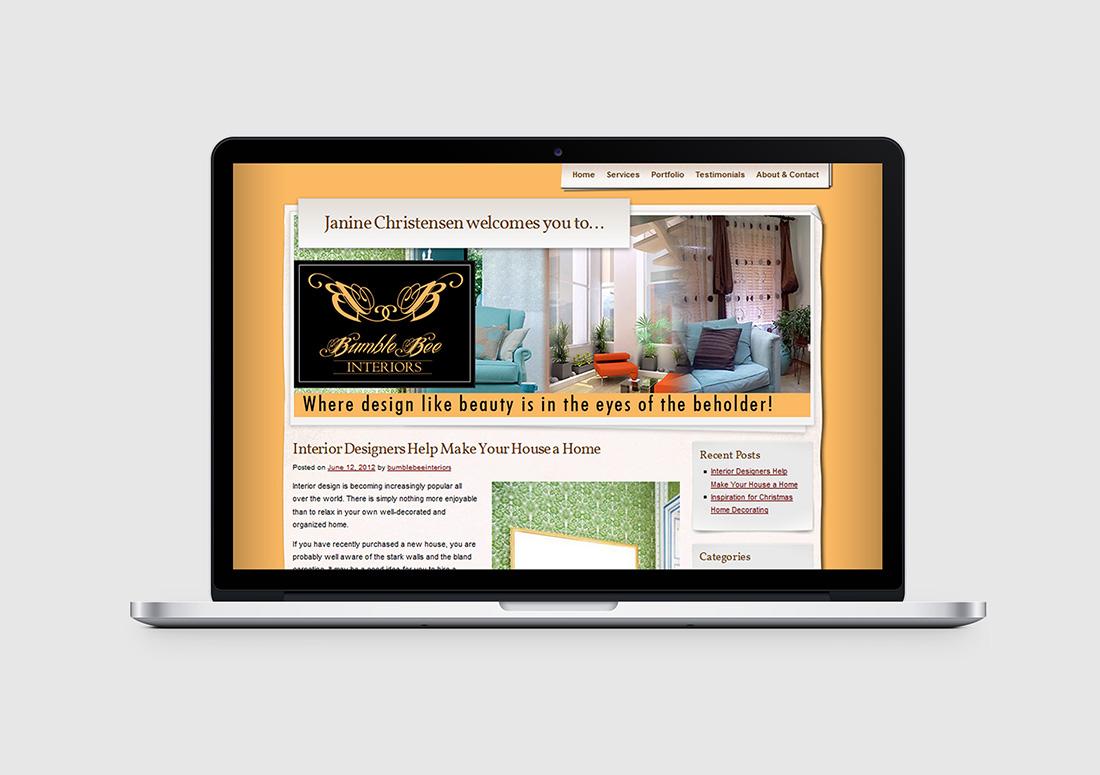 denver interior designer web design