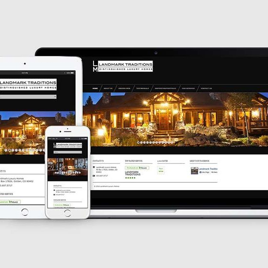 Mountain Luxury Builder WordPress Web Design
