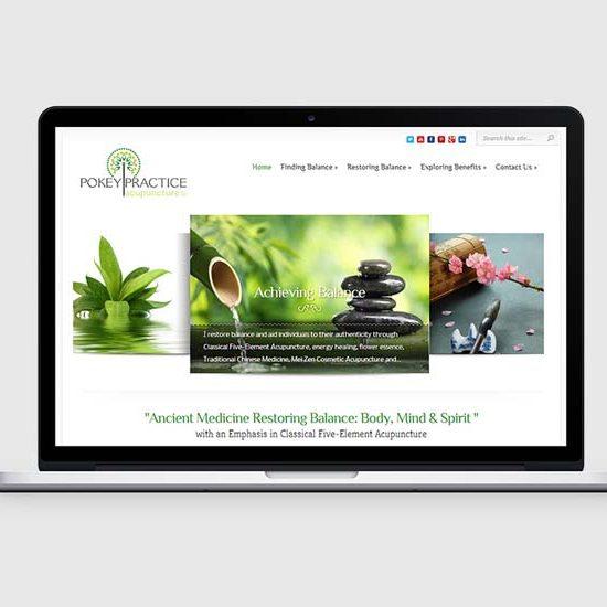 denver wordpress design for acupuncture office