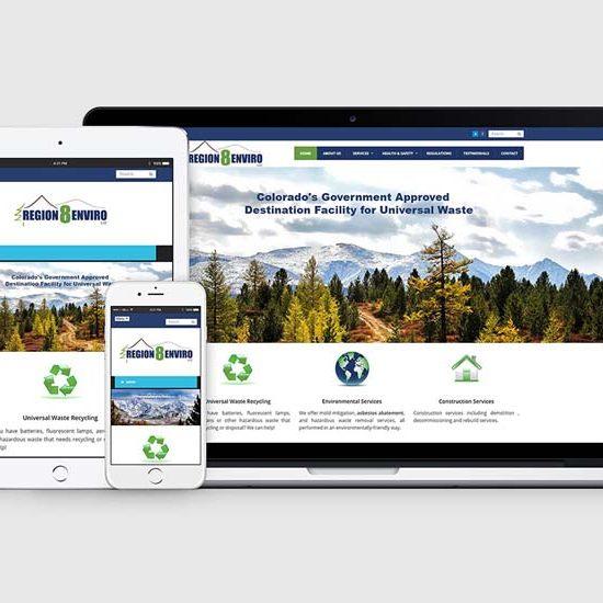 colorado environmental firm wordpress web design