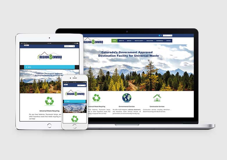 colorado environmental firm wordpress web design