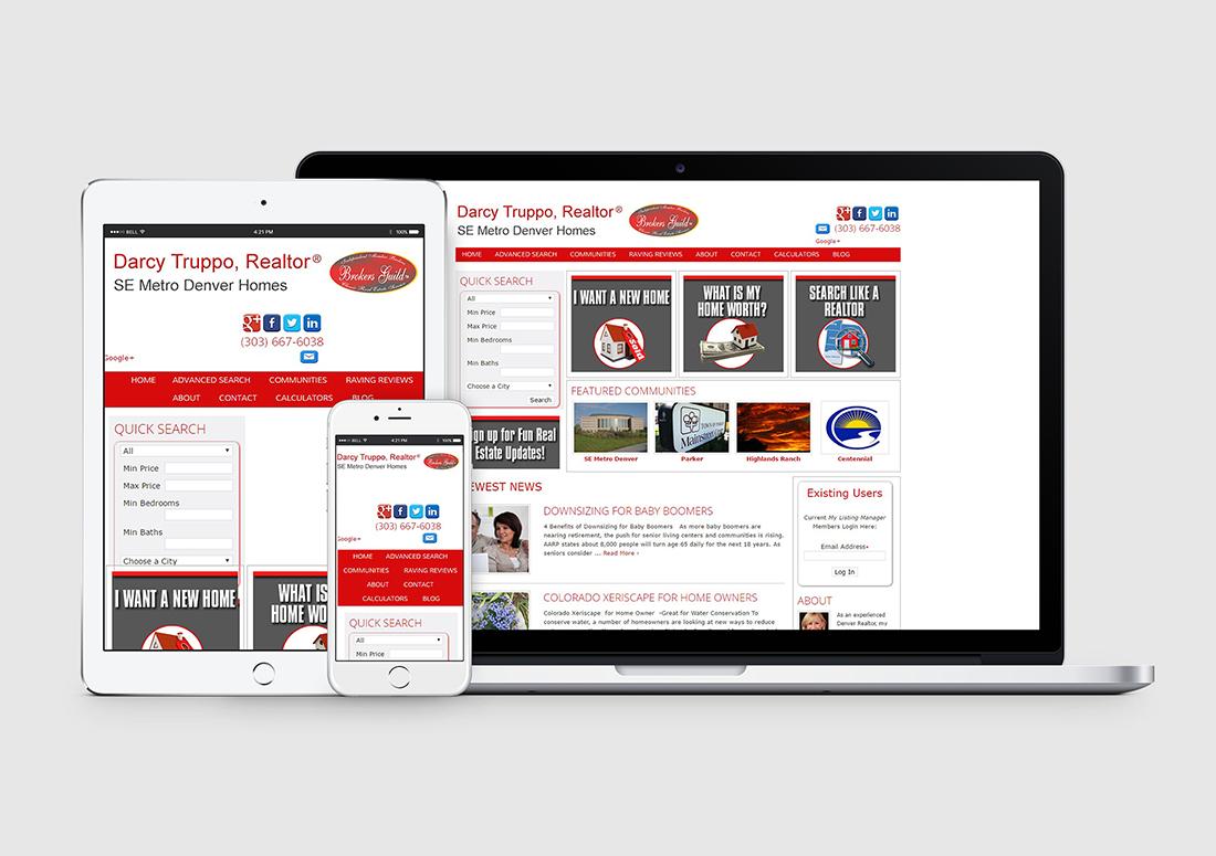 denver real estate wordpress website design