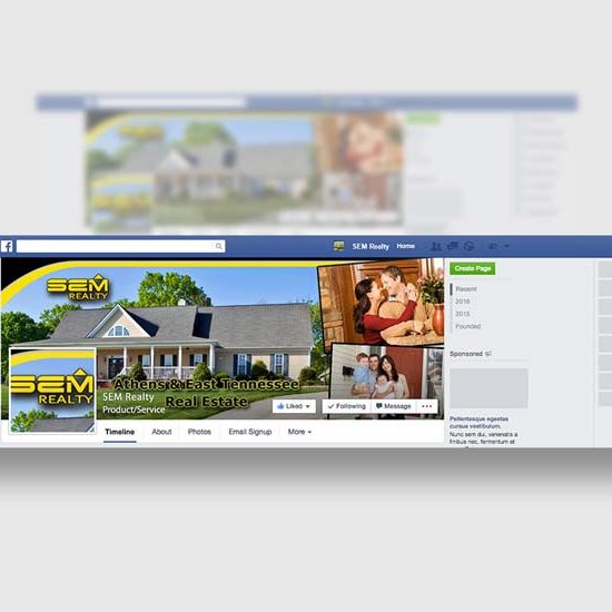 Real Estate Firm Social Media Design