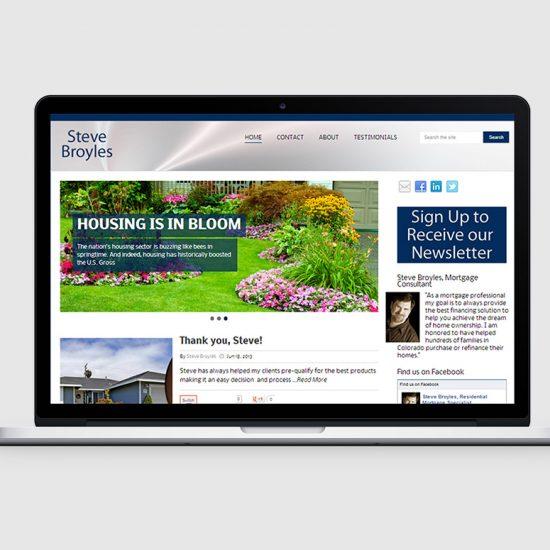 mortgage officer denver blog design