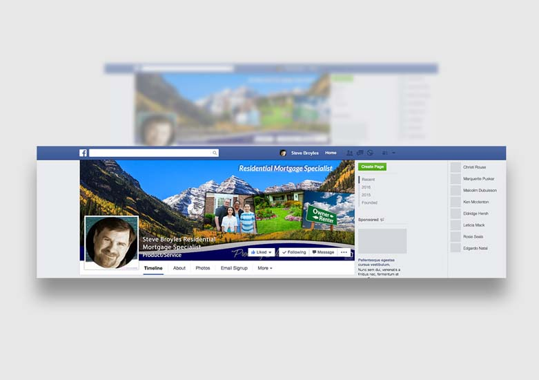 Real Estate Firm Social Media Design