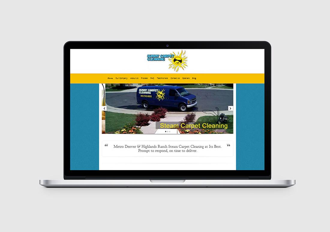 denver carpet cleaning web design