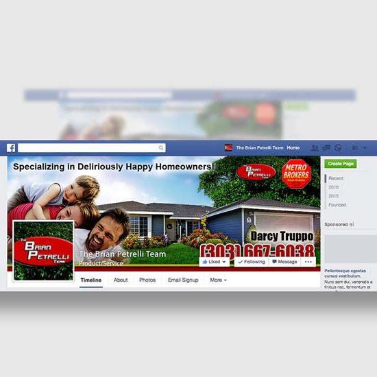 graphic design social media real estate