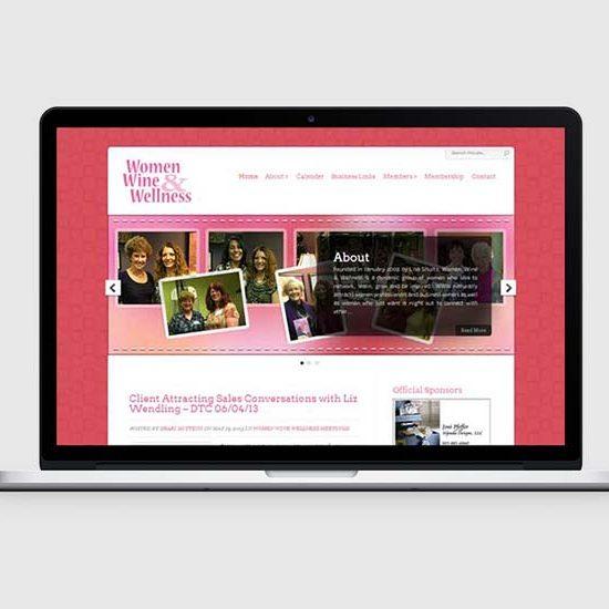 denver networking for women wordpress design