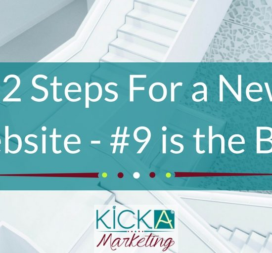 12 Steps For a New Website