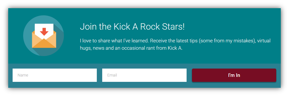 join the kick a rock stars