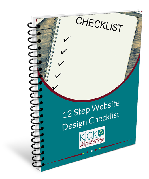 12 step web design checklist giveaway